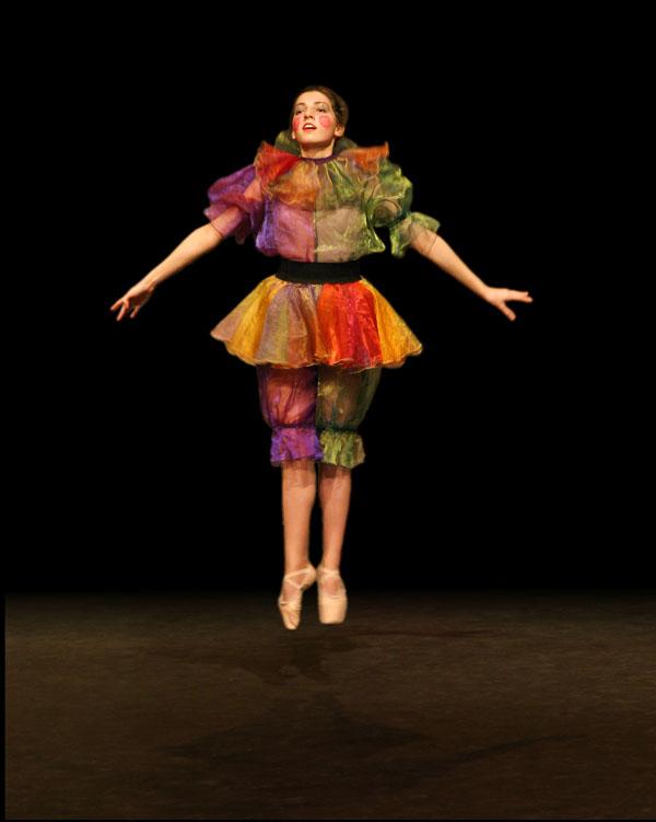 dancer Creating Smokey Dancer (Using Lighting/Texturing Effects)