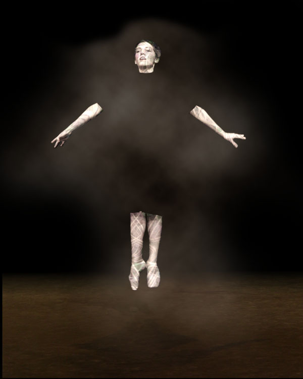 dancer10b Creating Smokey Dancer (Using Lighting/Texturing Effects)