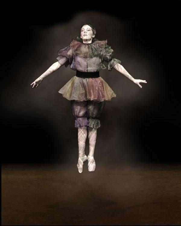 dancer11 Creating Smokey Dancer (Using Lighting/Texturing Effects)
