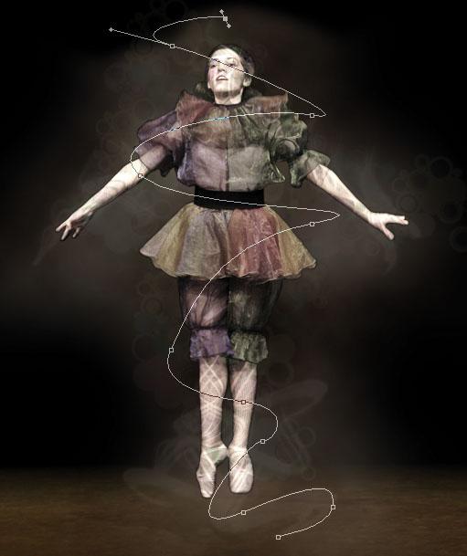 dancer13a Creating Smokey Dancer (Using Lighting/Texturing Effects)