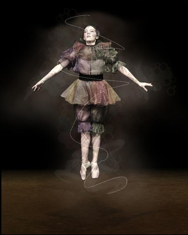 dancer13b Creating Smokey Dancer (Using Lighting/Texturing Effects)