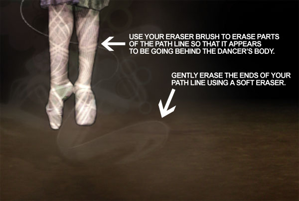 dancer14a Creating Smokey Dancer (Using Lighting/Texturing Effects)