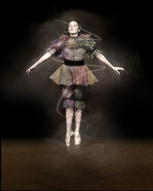 dancer16 Creating Smokey Dancer (Using Lighting/Texturing Effects)