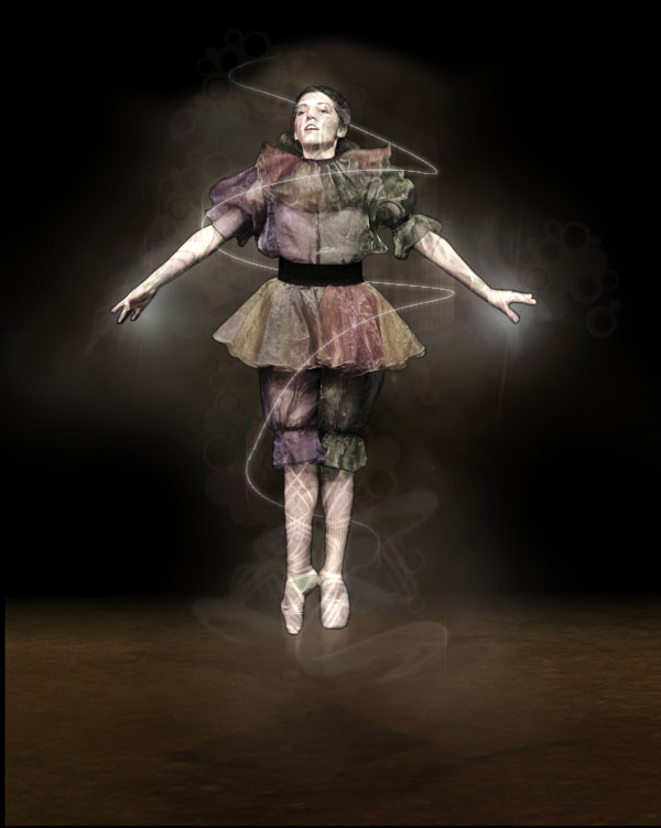 dancer17b Creating Smokey Dancer (Using Lighting/Texturing Effects)