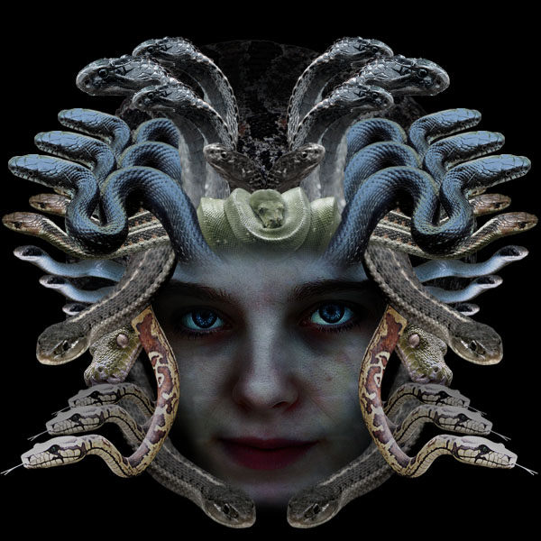 medusa16b Vẽ Quái Vật Medusa trong Photoshop