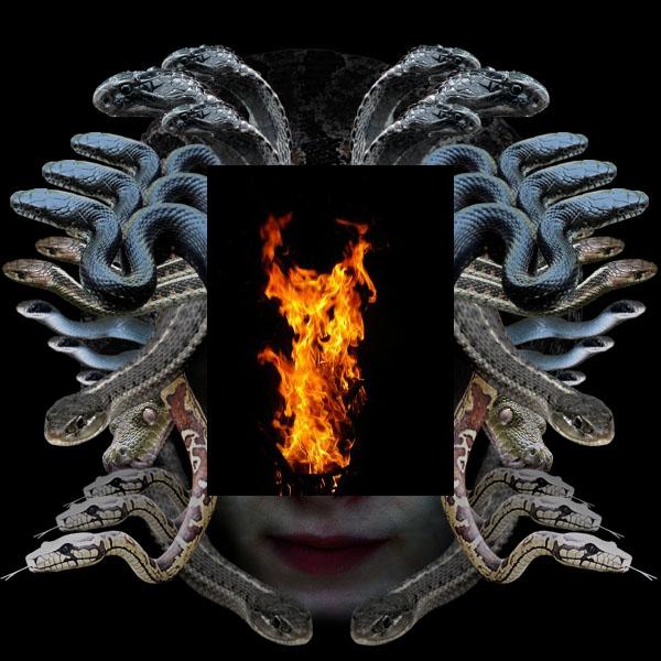 medusa17a Vẽ Quái Vật Medusa trong Photoshop
