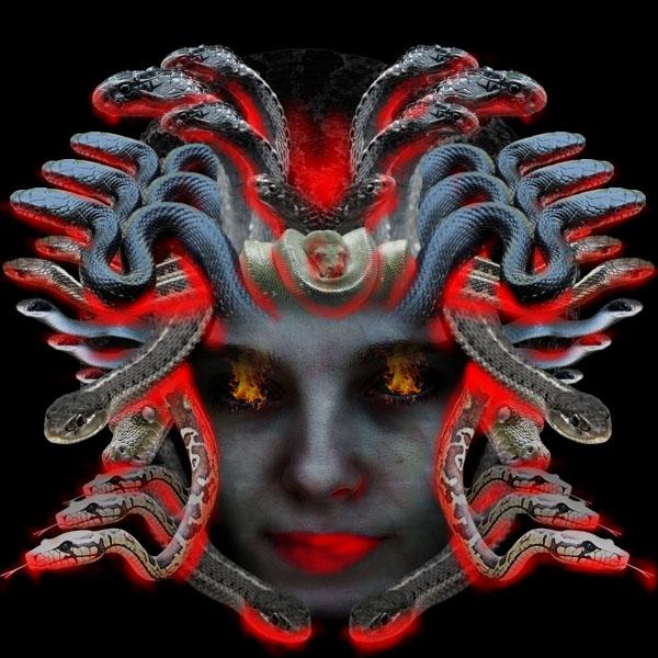 medusa20a Vẽ Quái Vật Medusa trong Photoshop
