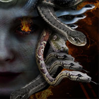 Creating Medusa With Photo Manipulation