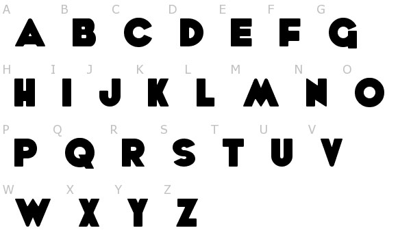 Bold Typography Uses Inspiration Free Fonts