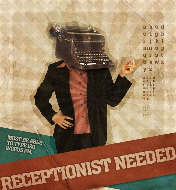 Create a Mock-Retro Poster Concept