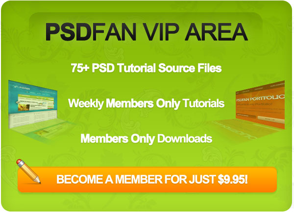 psdfanvipimage PSDFAN VIP Area Launches!
