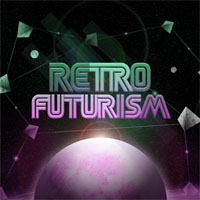 Design a Retro Futurism Space Scene