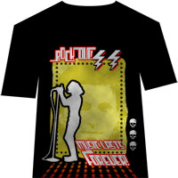 Design a Retro, Rock T-Shirt Design