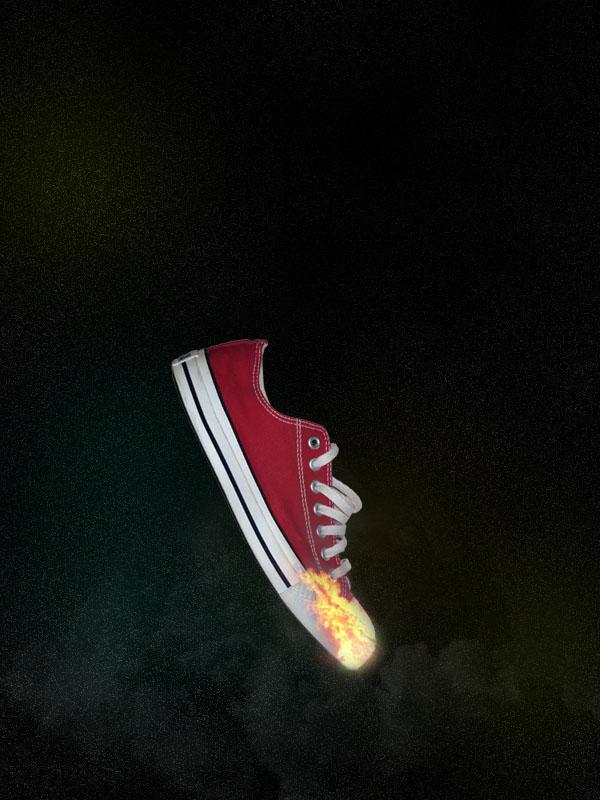shoe11 Design a Stunning Sneaker Advert