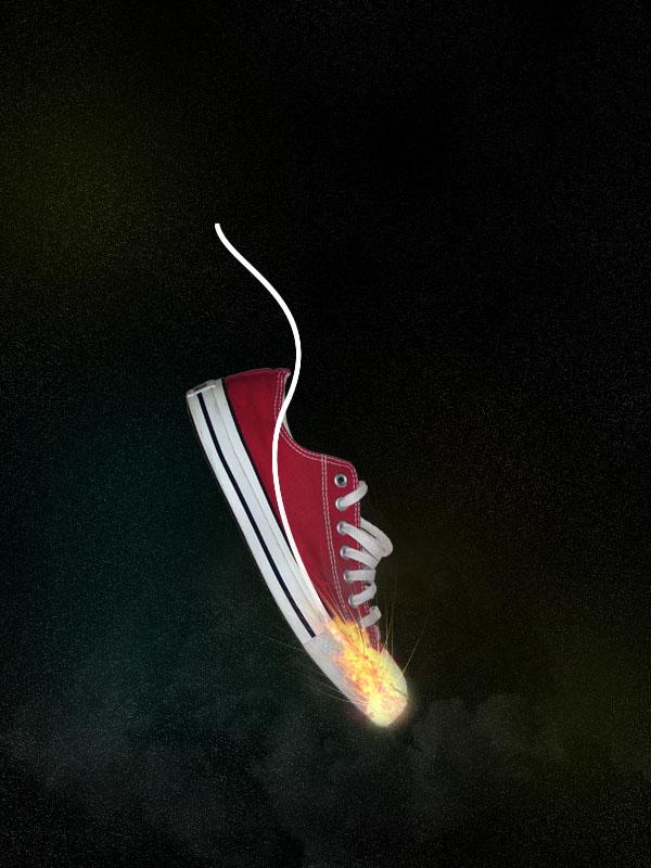 shoe13 Design a Stunning Sneaker Advert