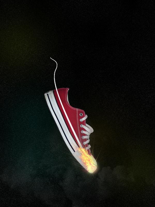 shoe14 Design a Stunning Sneaker Advert