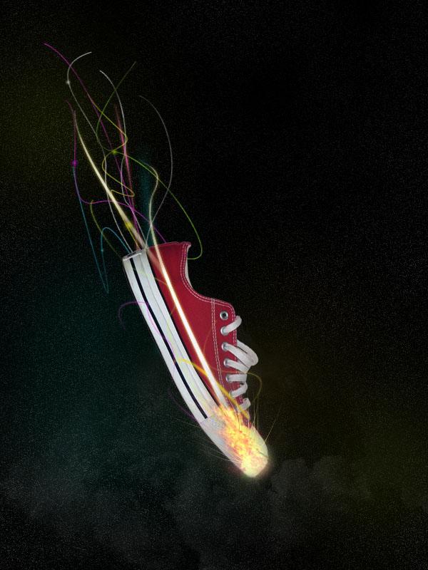 shoe18b Design a Stunning Sneaker Advert