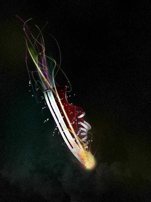 shoe22d Design a Stunning Sneaker Advert