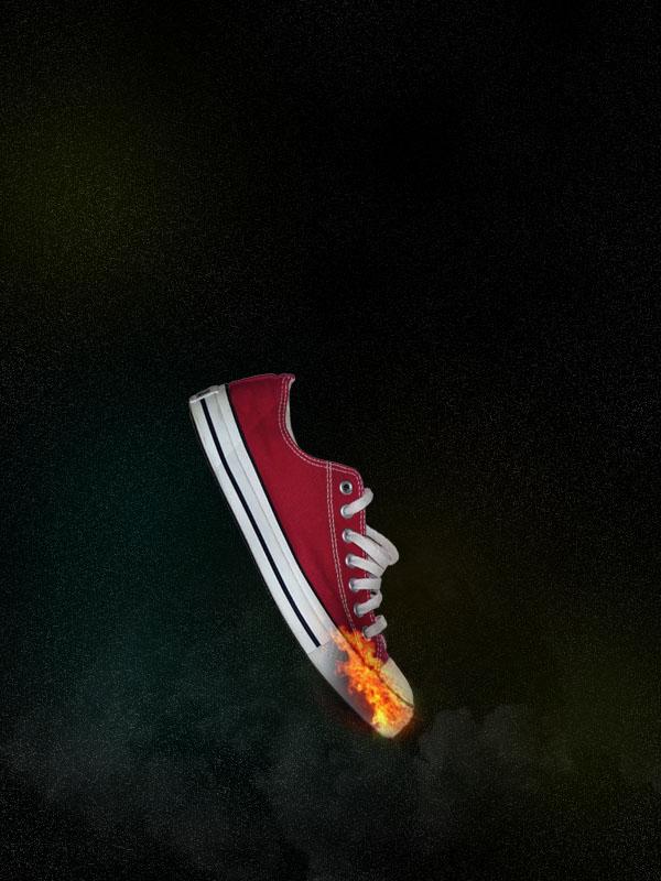 shoe9b Design a Stunning Sneaker Advert