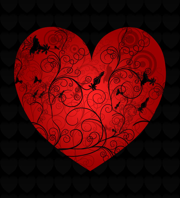 Design a Sleek Valentines Day Card – Dark Valentines Day Cards