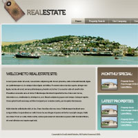 Design a Sleek Real Estate Website