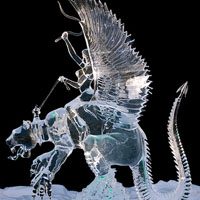 35 Astonishingly Intricate Ice Sculptures