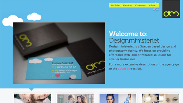 cleanbright13 30 Clean and Bright Website Designs