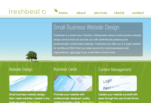 cleanbright16 30 Clean and Bright Website Designs