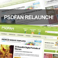 PSDFAN Relaunches With New Look!