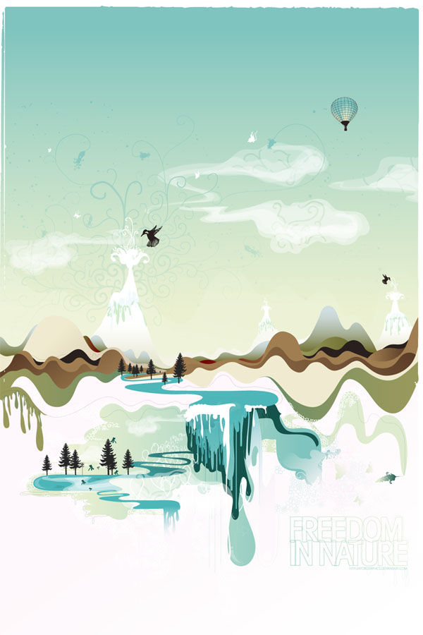 vect10 25 Inspiring Examples of Abstract Vector Design