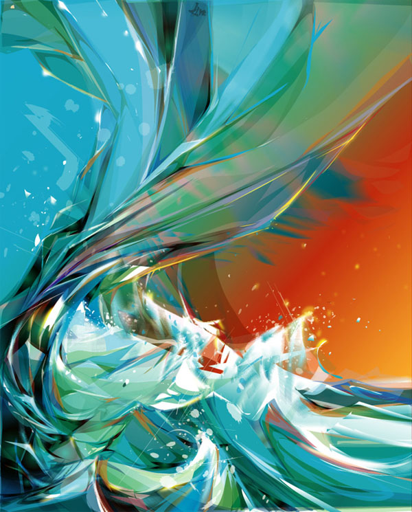 vect2 25 Inspiring Examples of Abstract Vector Design
