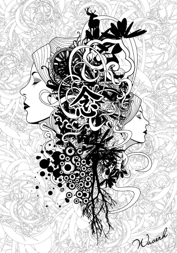vect4 25 Inspiring Examples of Abstract Vector Design