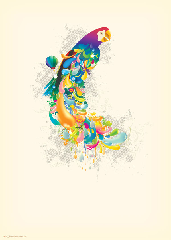 vect6 25 Inspiring Examples of Abstract Vector Design