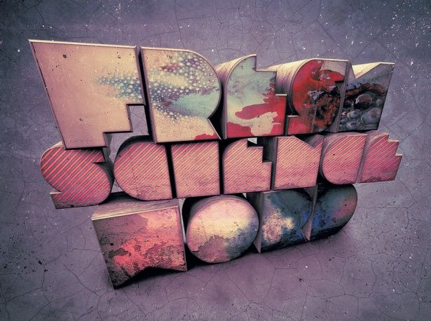 3d6 The Ultimate List of Resources for Creating and Styling 3D Text in Photoshop
