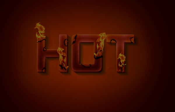 burn33 Create a Unique Burning Text Effect