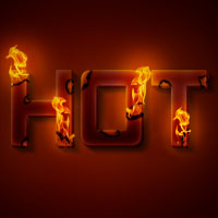 Create a Unique Burning Text Effect