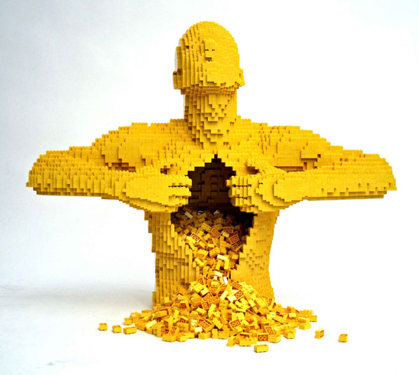 sculptures lego sculpture