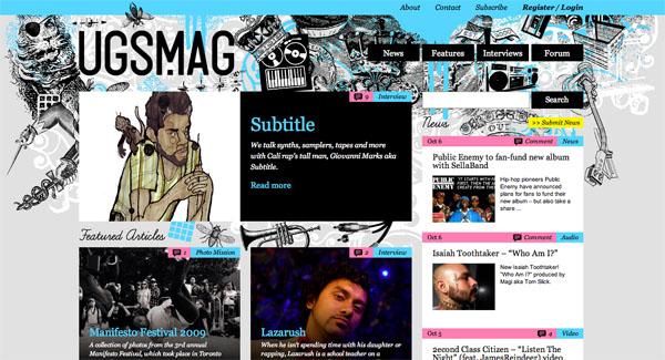 mag3 15 Fresh Online Magazine Designs