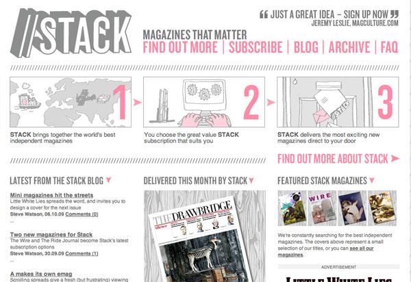 mag4 15 Fresh Online Magazine Designs