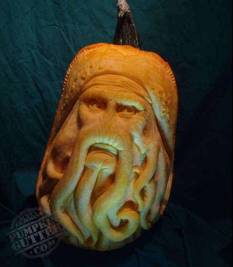 pumpk6 25 Extraordinary Pumpkin Carvings