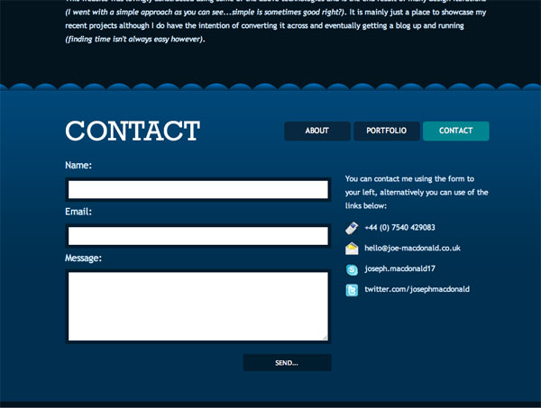 Best Contact Us Page Design