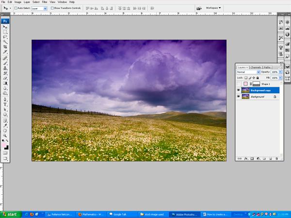 natural4a Photo Manipulate a Beautiful Sunrise Landscape
