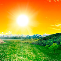 Photo Manipulate a Beautiful Sunrise Landscape