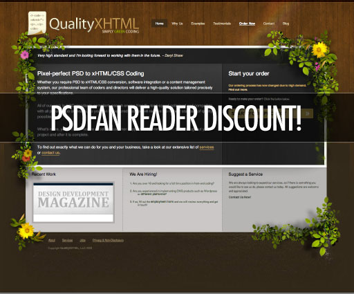 html1 QualityXhtml Subscription Contest