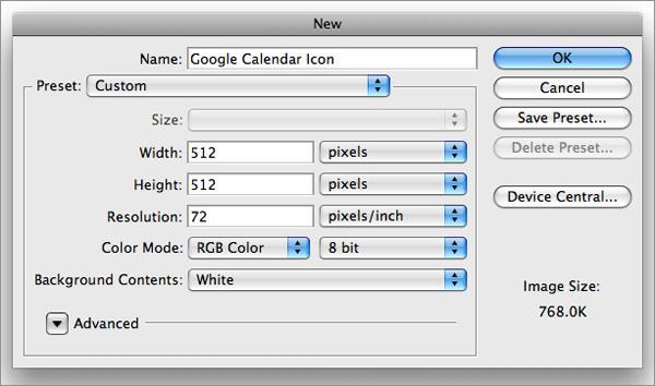 icon1 How to Design a Beautiful Google Calendar Icon