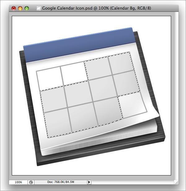 icon33 How to Design a Beautiful Google Calendar Icon