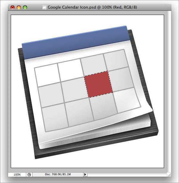 icon34 How to Design a Beautiful Google Calendar Icon
