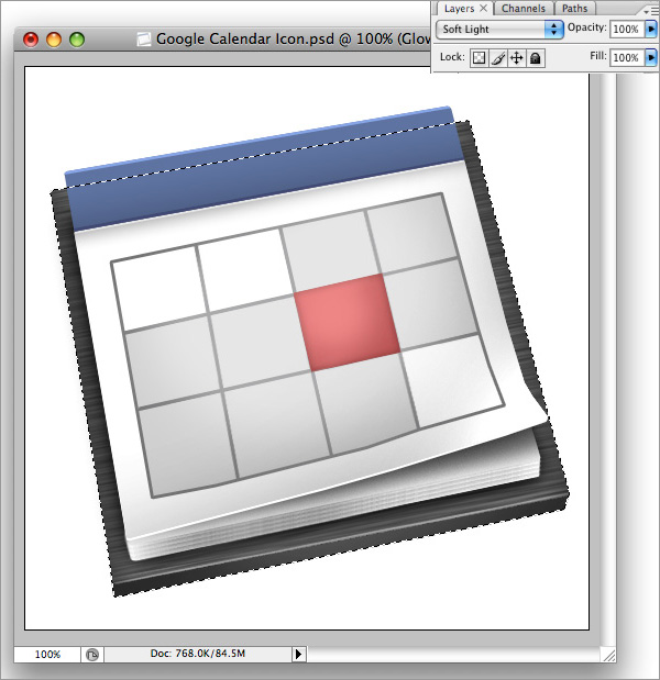 icon37 How to Design a Beautiful Google Calendar Icon