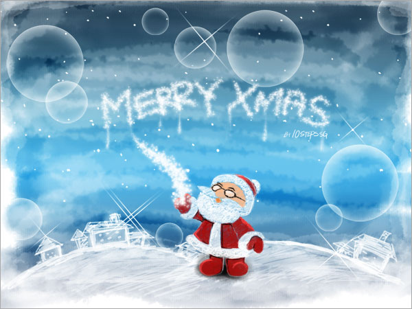 xms6 20 Fantastically Festive Christmas Photoshop Tutorials