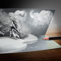 20 Fantastically Festive Christmas Photoshop Tutorials